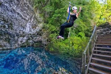 Canopy zipline, Tarzan swing and Superman fly in Punta Cana (10)