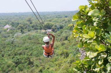 Canopy zipline, Tarzan swing and Superman fly in Punta Cana (11)