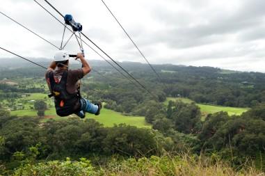 Canopy zipline, Tarzan swing and Superman fly in Punta Cana (15)
