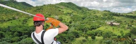 Canopy zipline, Tarzan swing and Superman fly in Punta Cana (7)