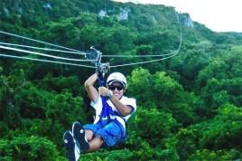 Canopy zipline, Tarzan swing and Superman fly in Punta Cana (9)
